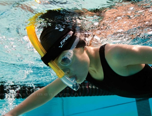 TRAINING WITH A SWIM SNORKEL